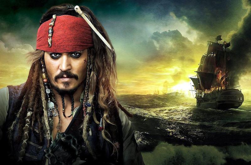 Капитан Джек Воробеи в Пиратах Карибского Моря 5