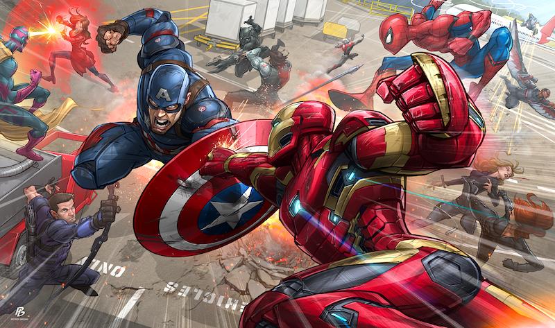 Первый мститель Гражданская война